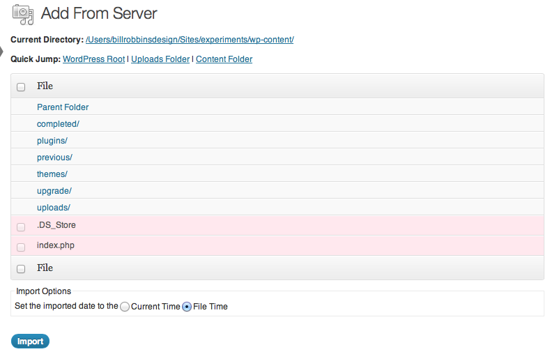Browse Server