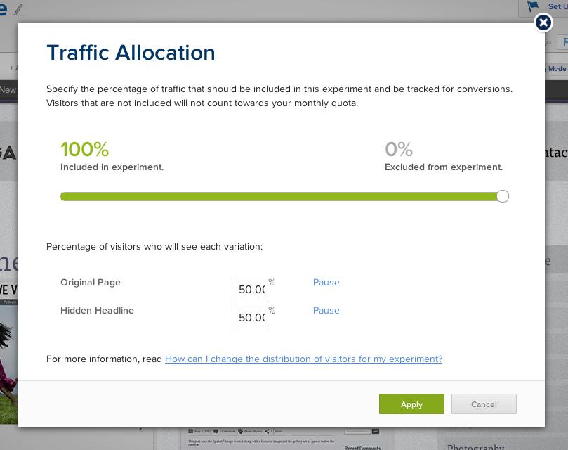 Allocate Traffic