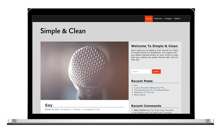 Simple & Clean Theme