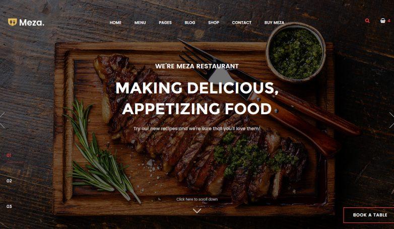 Meza Homepage 1