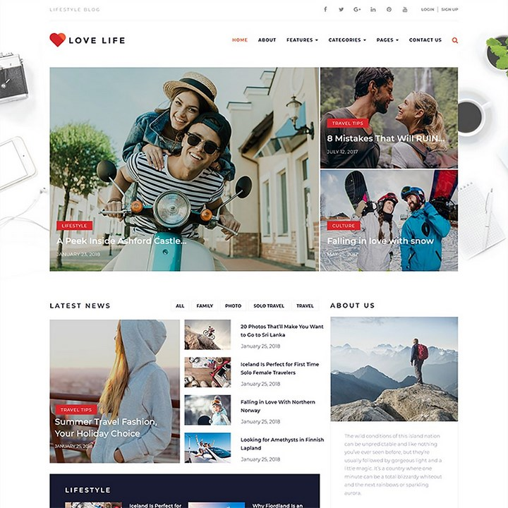 Make your Instagram Blog popular with these WordPress themes