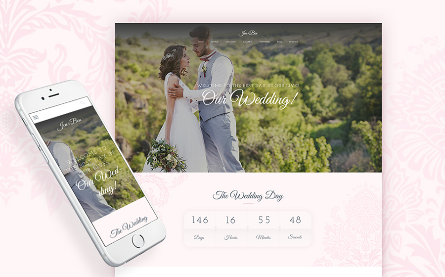 Wedding WordPress Themes to Impress Your Special Someone