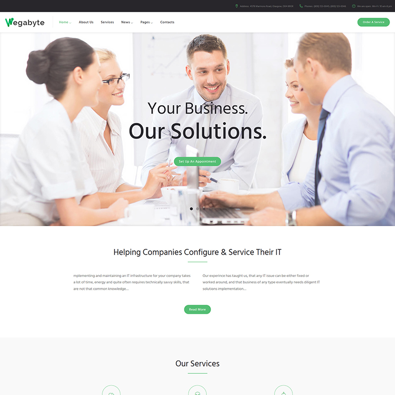 IT Consulting WP Theme